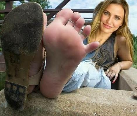 Feet cameron diaz Cameron Diaz