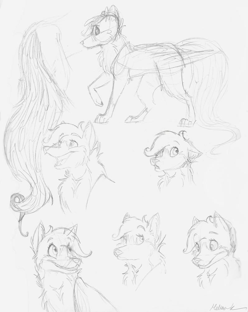 Expressions Practice- BroadwayWolf by BroadwayWolf