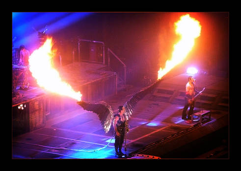 Rammstein Concert second