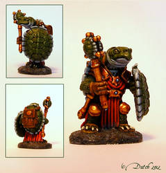 Tortoise Cleric by Dutchkat