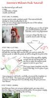 Wig Tutorial: Widow's Peak by Svespasveken