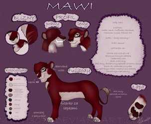Refrence Sheet- New Mawi by Mawi307