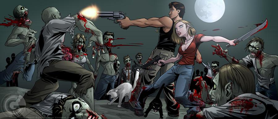 how to draw a zombie apocalypse