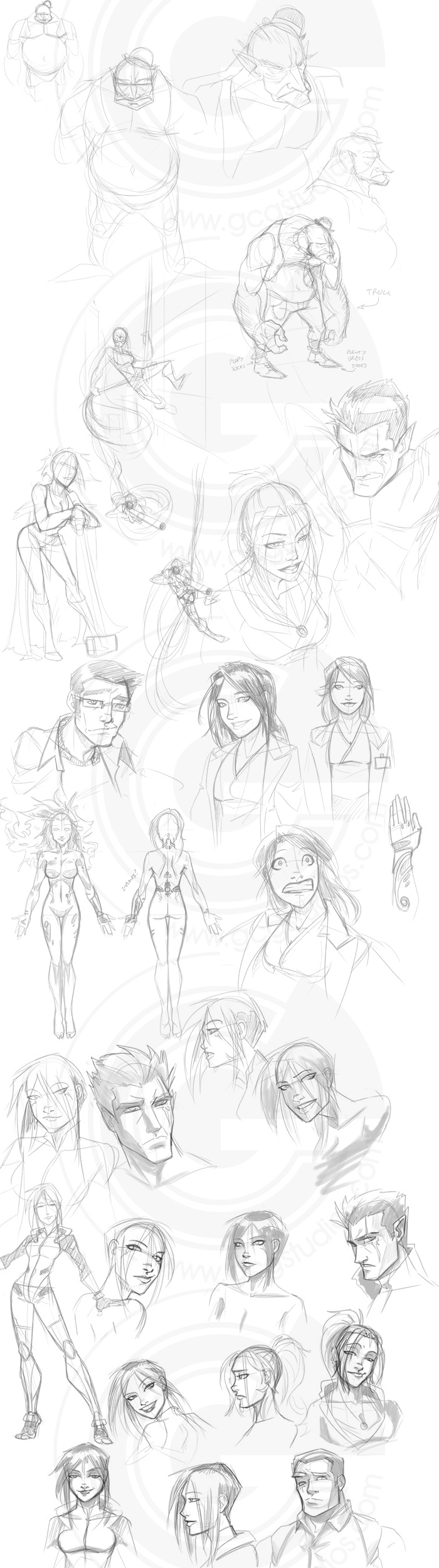 Sketch Dump by GarthFT