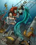 Hot Crustatcean Band...of Pirates by GarthFT