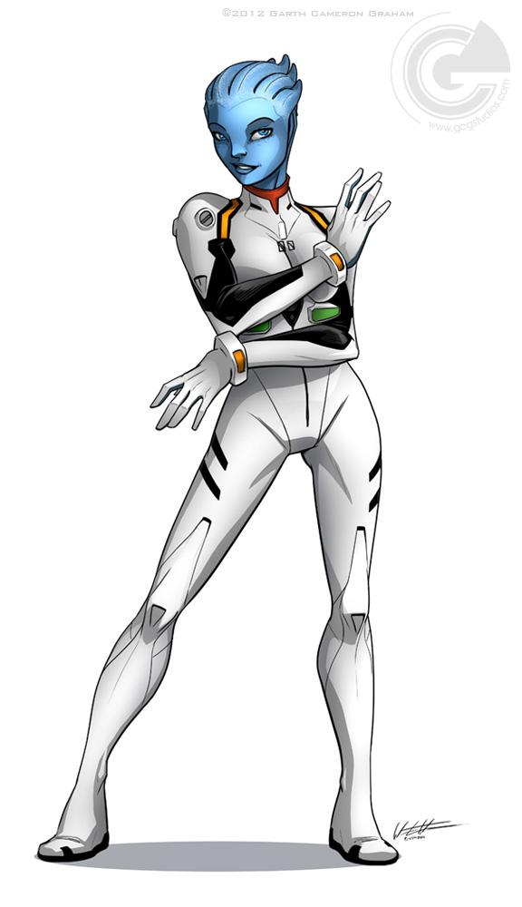 Liara Ayanami by GarthFT