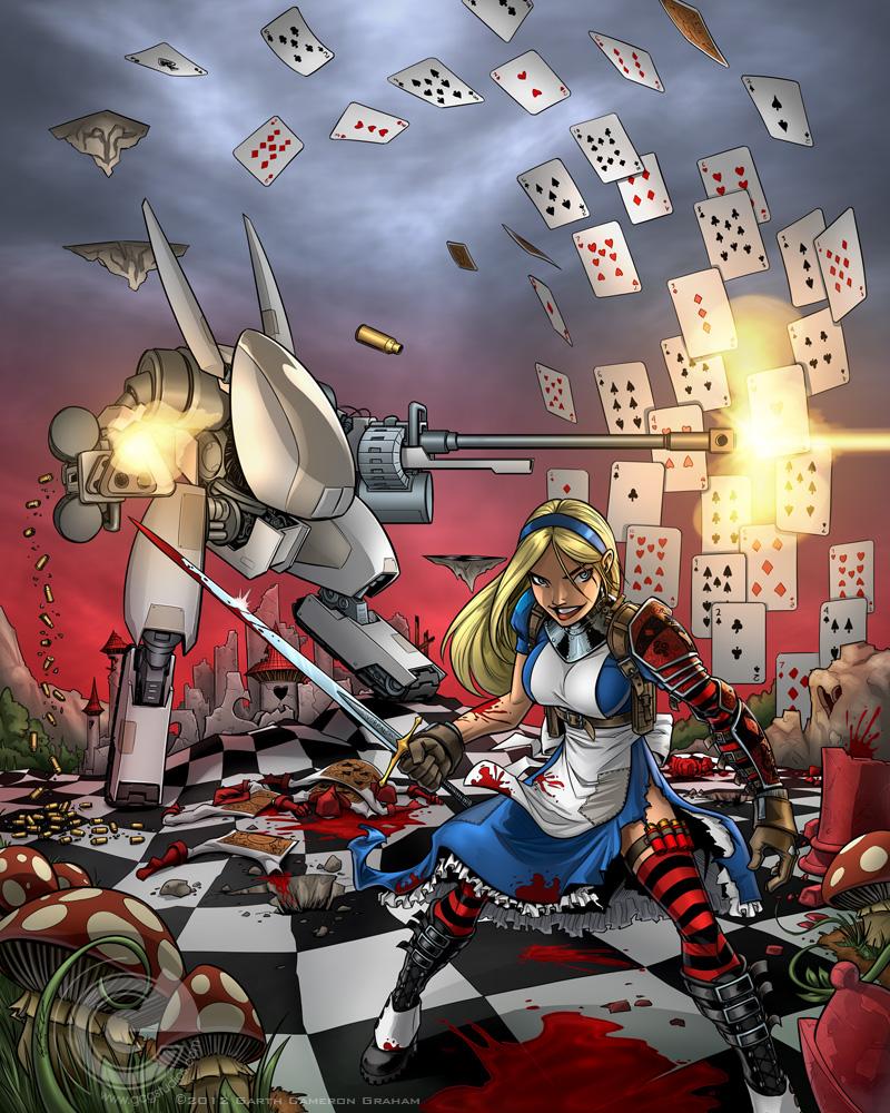 Wonderland Wars By Garthft On Deviantart