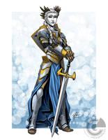 Knight of the Frost by GarthFT