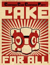 Portal Propaganda Red by GarthFT