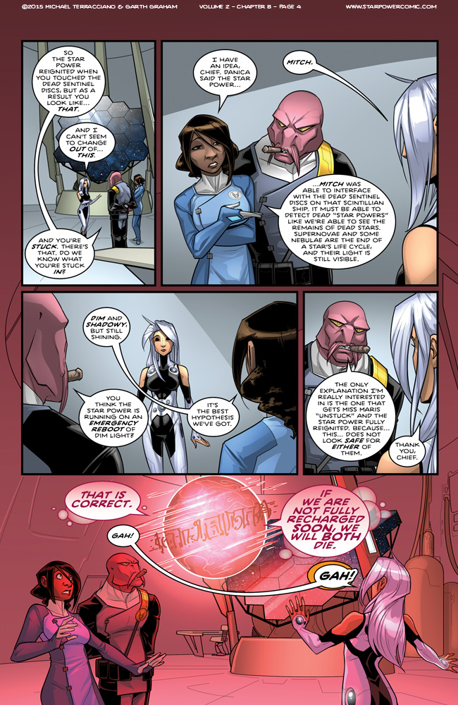 Star Power #8 Page 4 by GarthFT