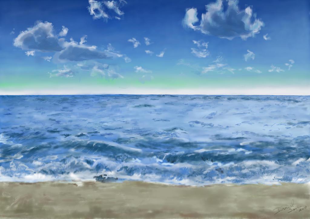 Sea by Israelanime