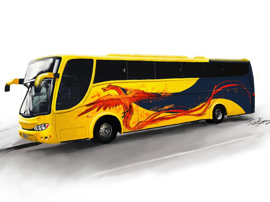 Bus by Israelanime