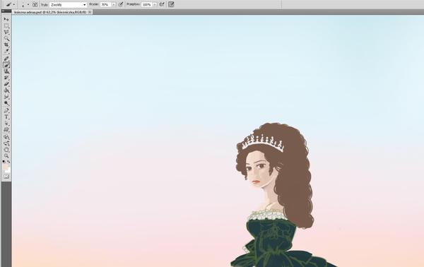 Duchess Adela (in progress - 01) by Kashoka