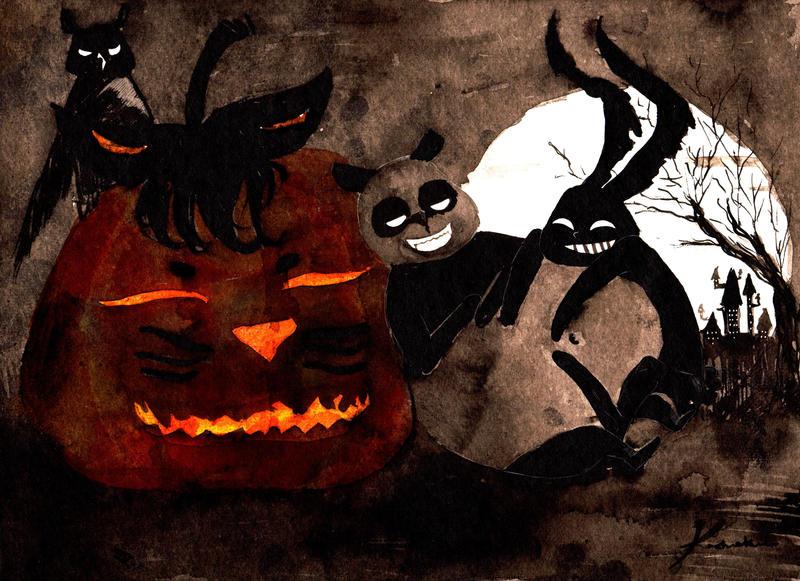 Halloween 7 by Kashoka