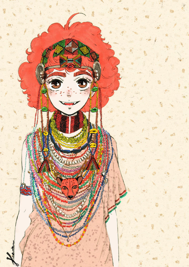 Chita (African costume) by Kashoka