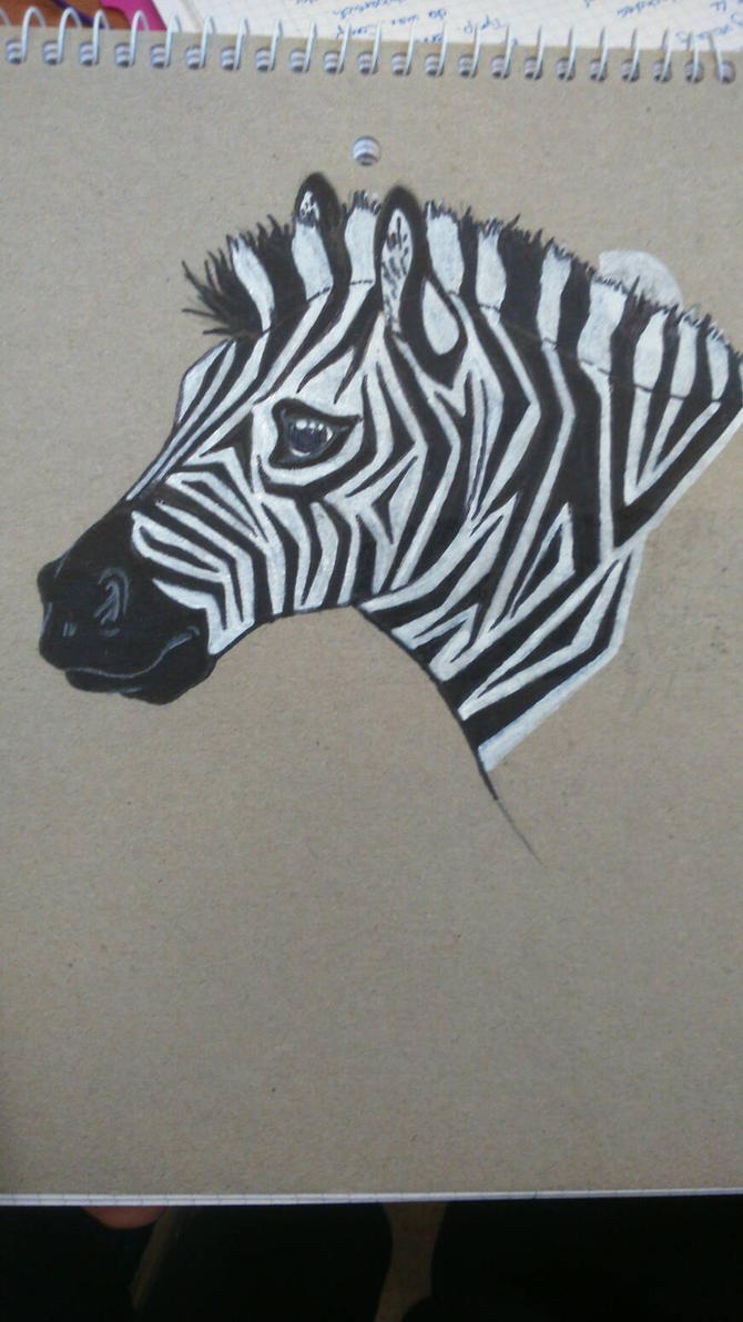 zebra  by GreedyChops