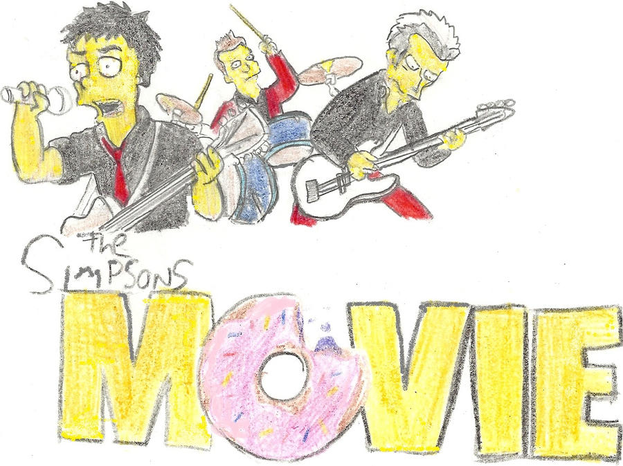 Green Day, The Simpsons Movie by basketcase1039 on DeviantArt