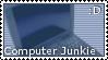 Junkie stamp by Hyrenblade