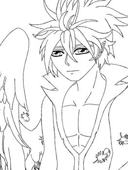 Dark Angel Commission inked