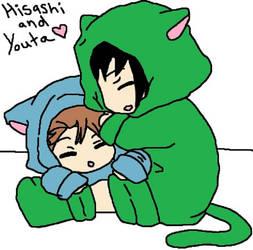 OC Hisashi and Youta