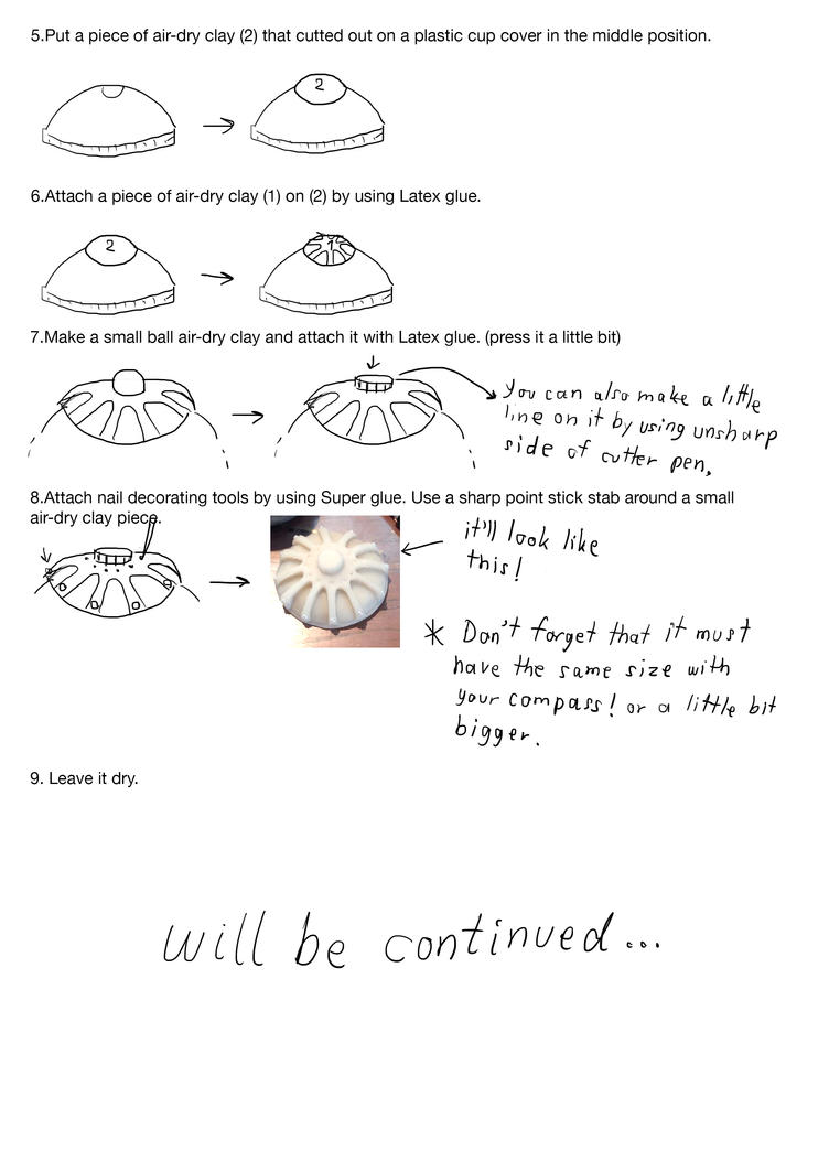 Hiccup's compass tutorial 2/ by Lookplu8