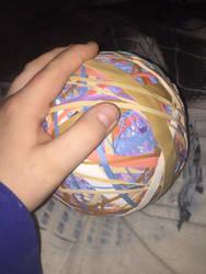 Rubber band ball update #2