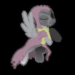 Dragon Priest Pony by RealBarenziah