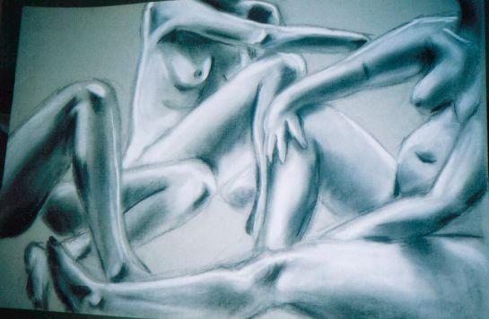 Naked Slumber Party by ~enderwillsaveus on deviantART