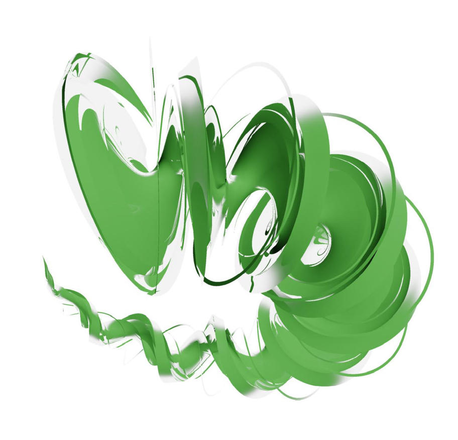 Twisting Green Tornadoy by matthew-cohen