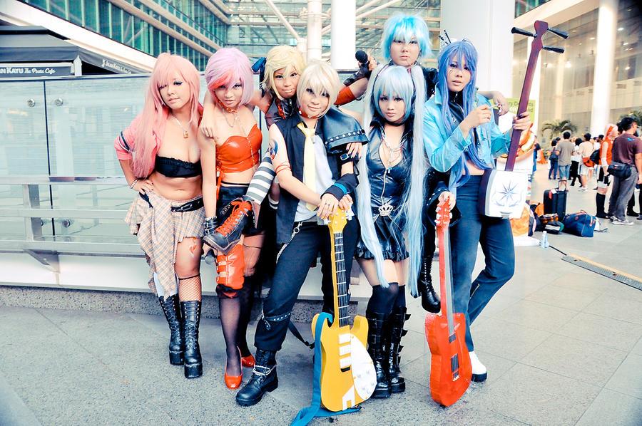 Hagane Vocaloids : stfest 2010 by Jesuke
