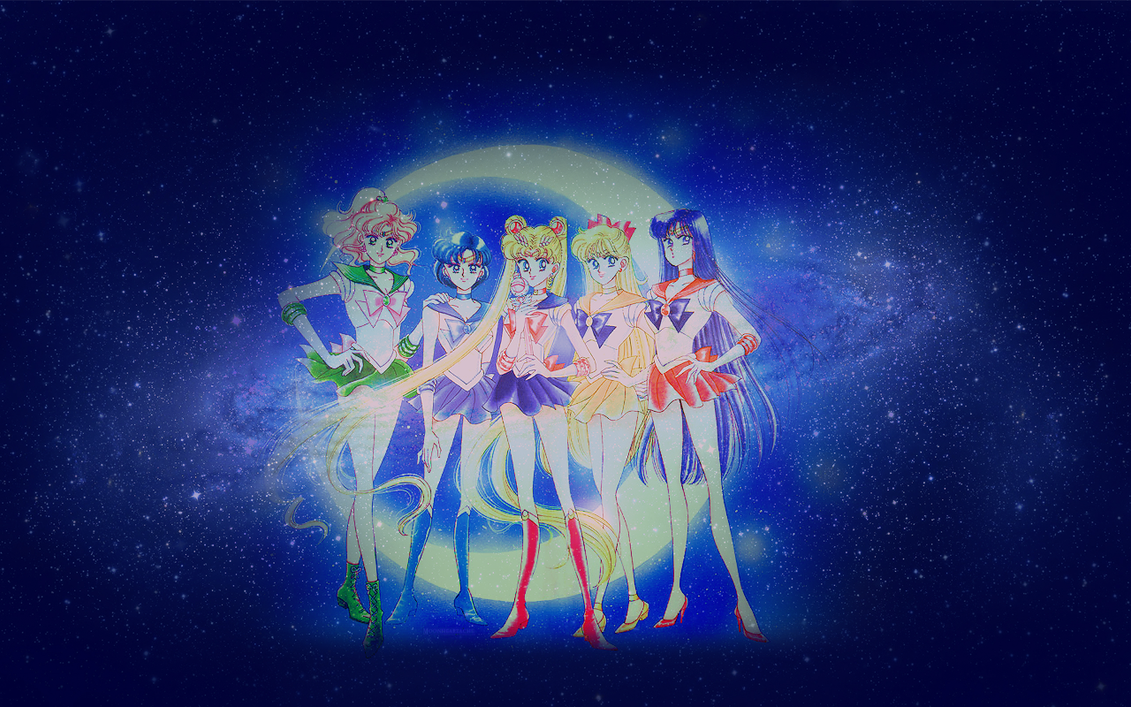 Inner Senshi Celestial Wallpaper by umei