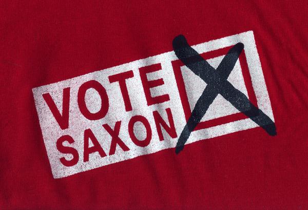 Vote Saxon by agent57