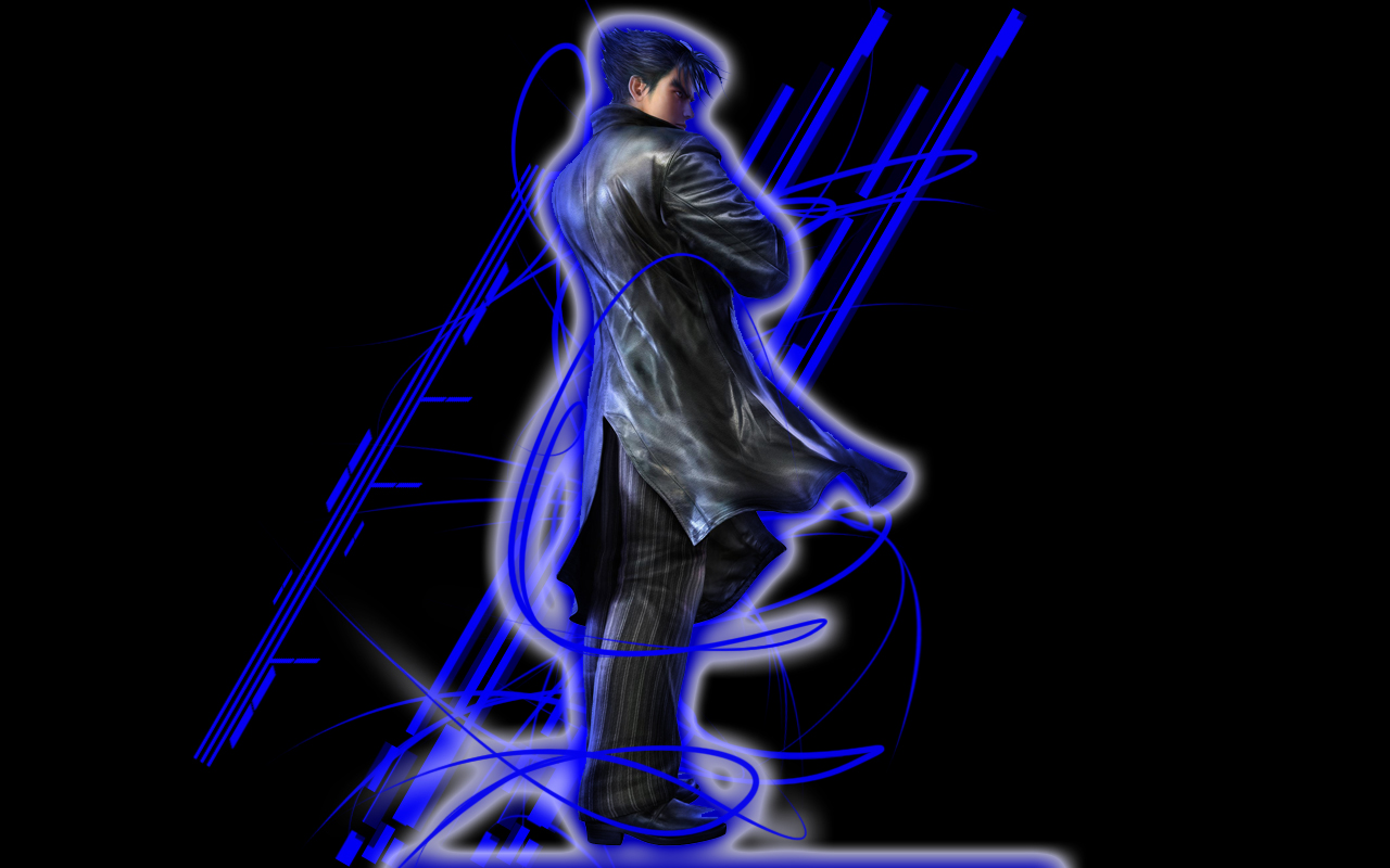 Jin Kazama Wallpaper by ~alexeiyuri on deviantART