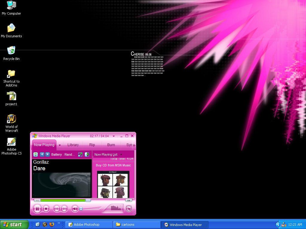 meh my desktop... by xCherisex