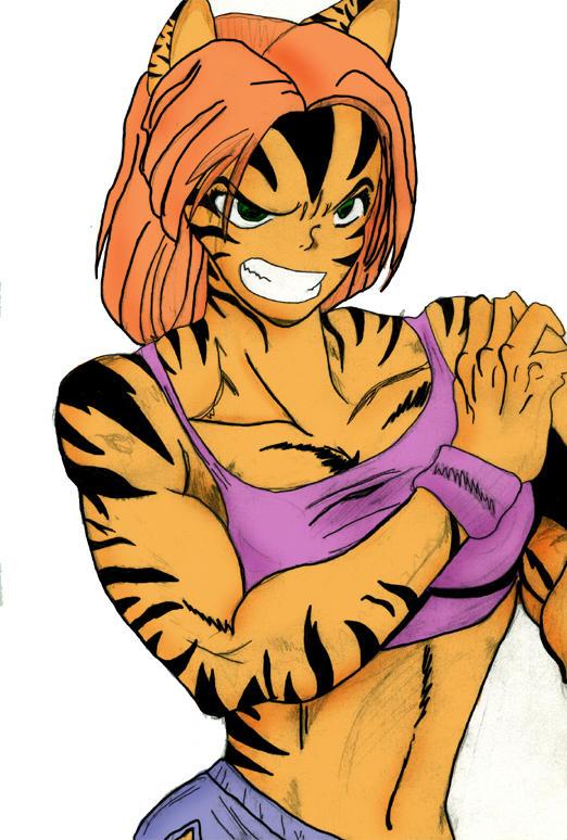Tigra by DevilWithAHalo