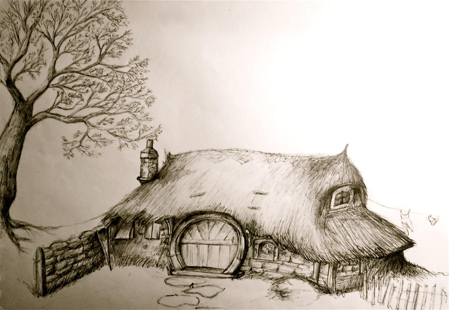 hobbit house by silverspectrum23 on deviantart