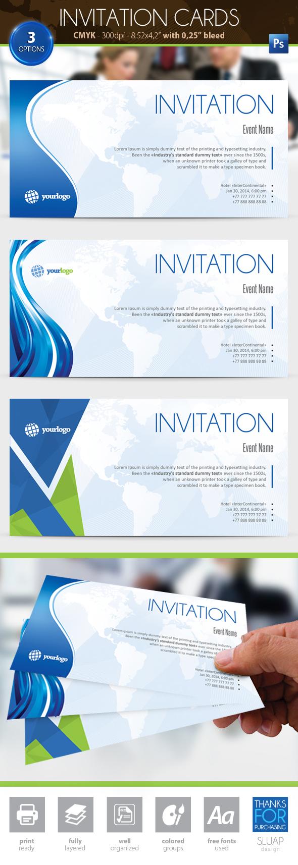 Invitation Card by sluapdesign
