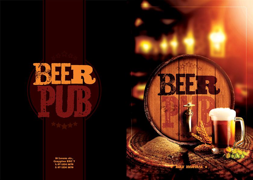 Cover Bar Menu by sluapdesign