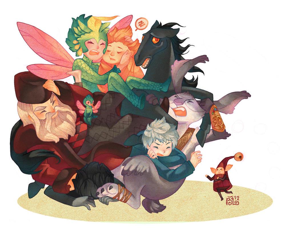 Katamari Guardians by GraphiteDoll