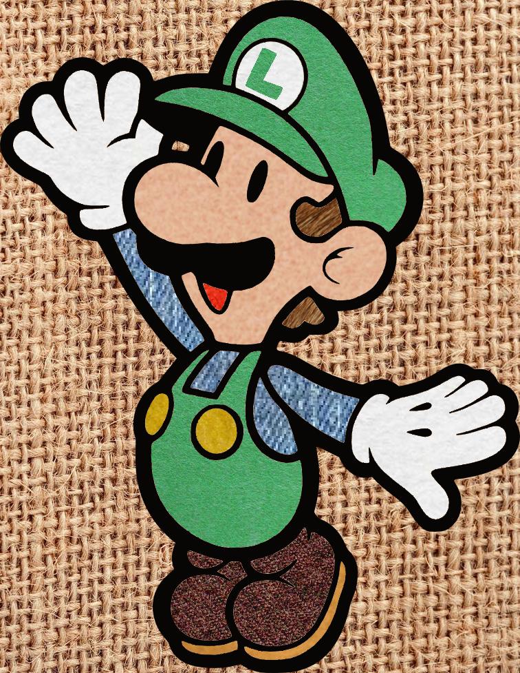 Luigi Textures by chingolobird