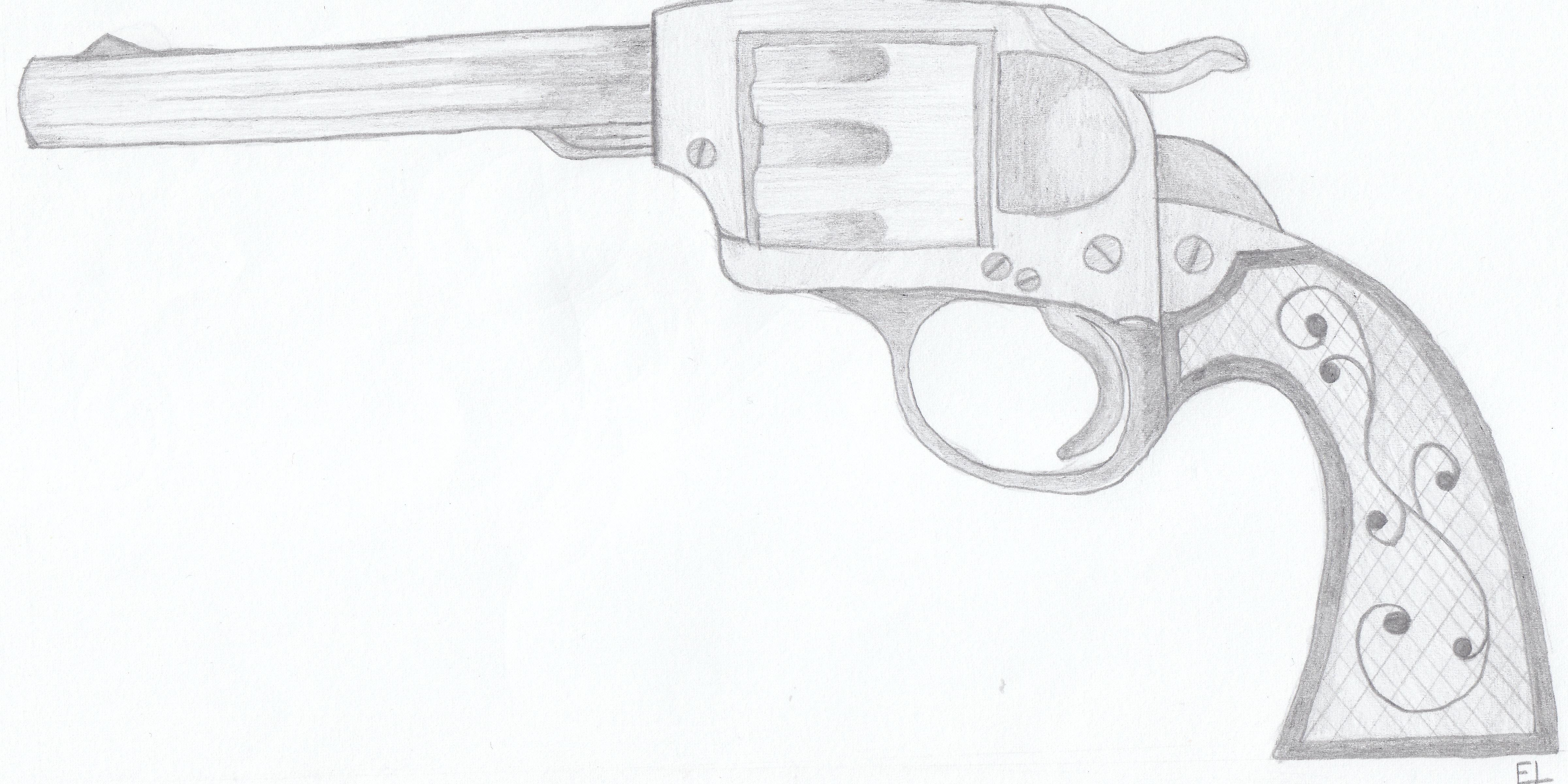 Western gun by ElkeTat on DeviantArt