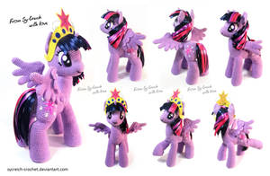 MLP crochet Princess Twilight Sparkle by LilSy-workshop