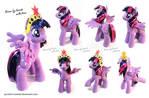 MLP crochet Princess Twilight Sparkle