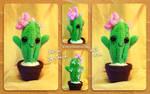 Little cute crochet cactus