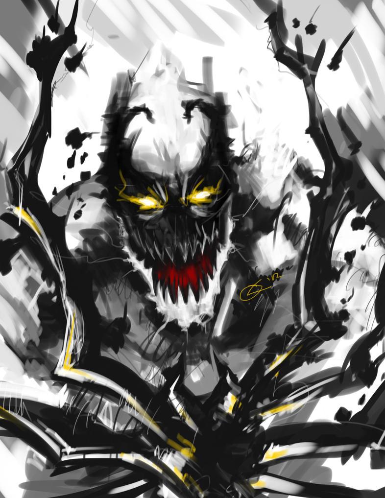 Anti-Venom's Rage by TheAngryMammoth on DeviantArt