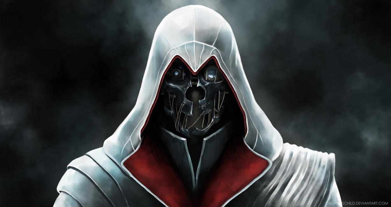 When Corvo borrowed Ezio's clothes... by TheAngryMammoth