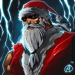 Santa by TheAngryMammoth