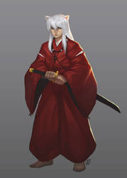 InuYasha by TheAngryMammoth