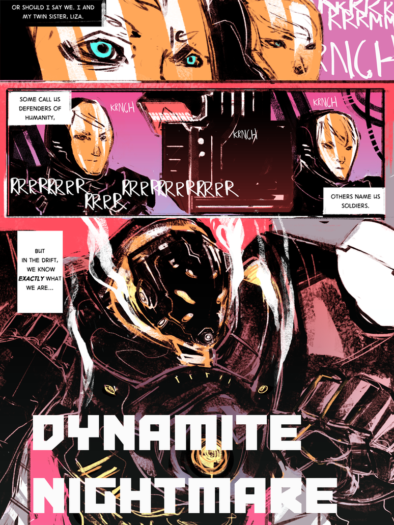 COUNTER ATTACK: Pacific Rim Fan Comic Pg.2 by some-zod