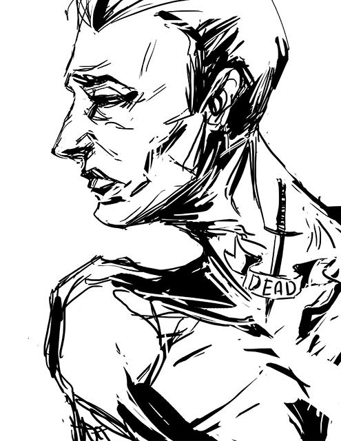 Warm Up Portrait by some-zod
